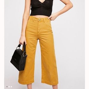 NWT Free People High Rise Patti Pants
